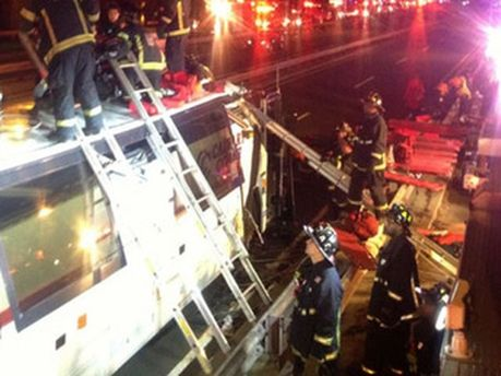 Аварія автобуса у США