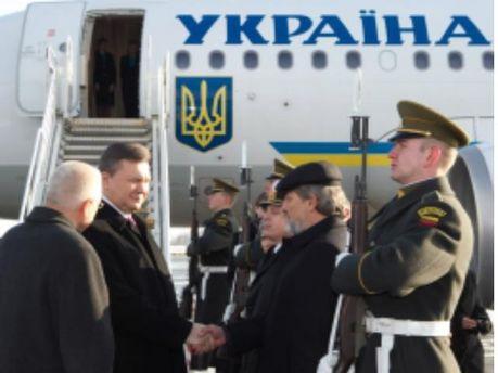 Президент Украины Виктор Янукович в Литве