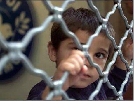 Хлопчик біженець