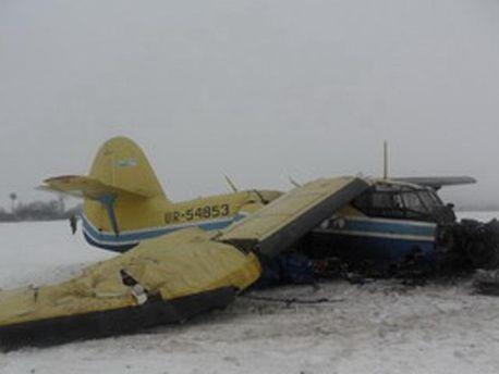 Упал самолет АН-2
