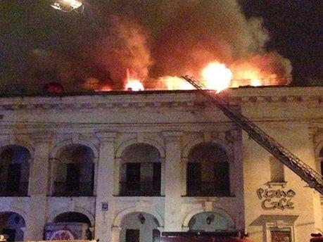 Пожар в Гостином дворе