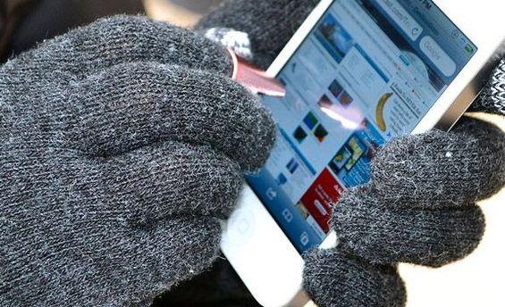 Cтилус-наперсток для пользователей смартфонов и планшетов