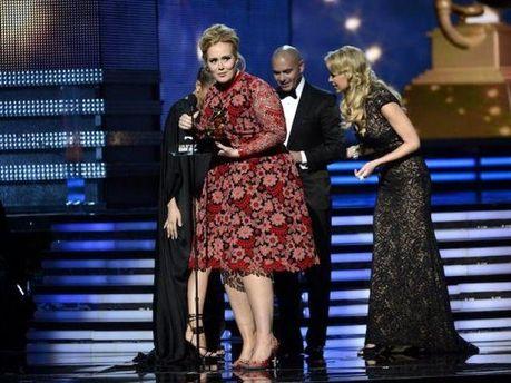 Адель на Grammy Awards
