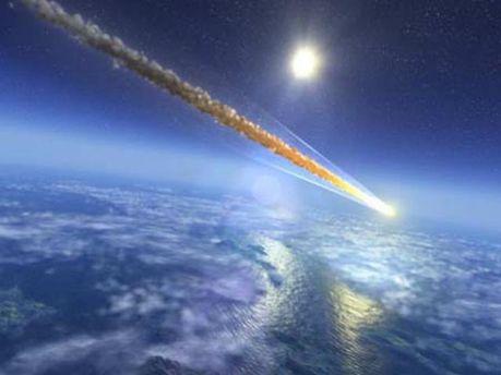 Метеорит. Иллюстрация