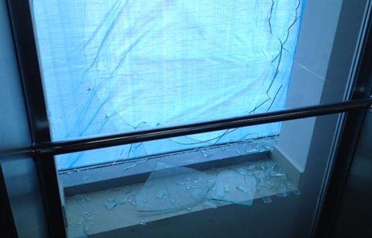 Побитые окна