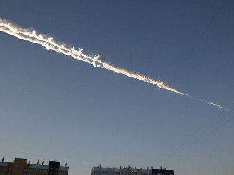 Метеорит над Челябинськом