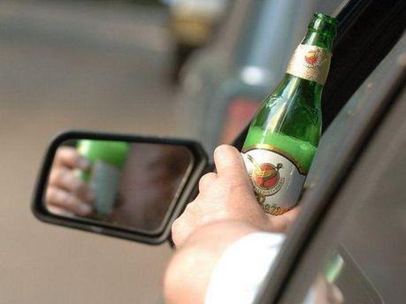 Пьяный водитель