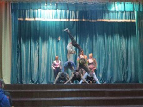 Виступ танцюристів