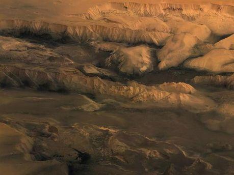 Теперь Марс можно рассматривать на 3D-карте (Фото)