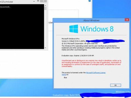 В сети появился первый скриншот Windows Blue (Фото)