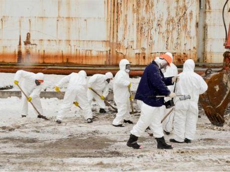 На ЧАЕС майже розчистили обвал бетонних плит (Фото)