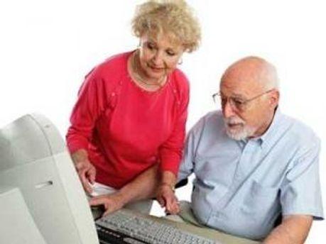 Пенсионеры в Facebook