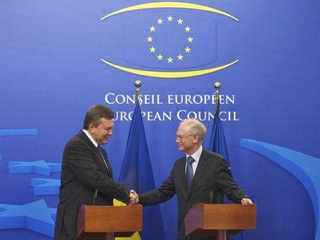 На саммите Украина - ЕС