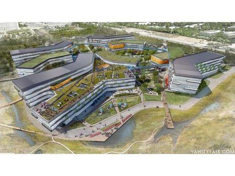 Google строит новую уникальную штаб-квартиру (Фото)