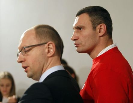 Виталий Кличко и Арсений Яценюк