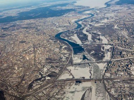 Київ з висоти пташиного польоту