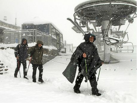 Снег в Польше