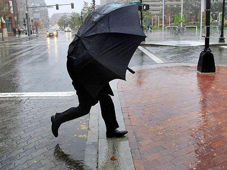В столице штормовое предупреждение
