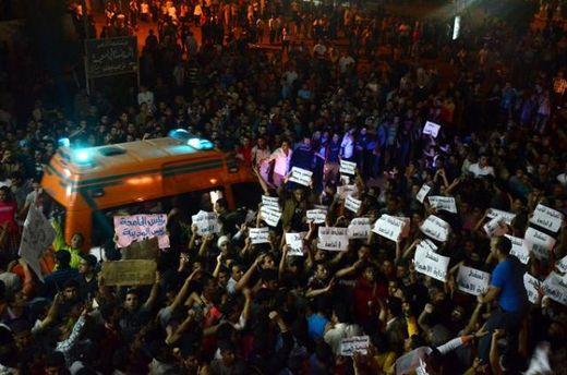 Протесты студентов