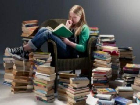 7,7% женщин прочитали за год более 40 книг