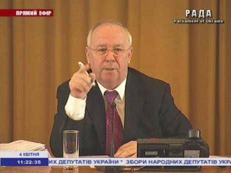 Володимир Рибак на виїному засіданні