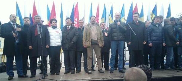 Мітинг в Житомирі