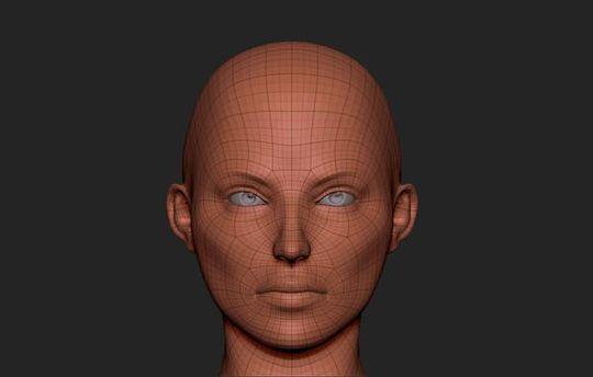 3D лицо