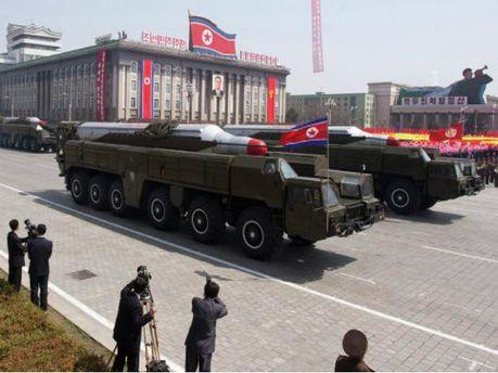 Военнослужащие из Северной Кореи