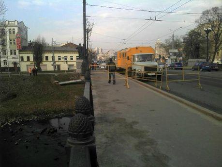 В Харькове перекрыли улицу, где должен состояться марш оппозиции (Фото)