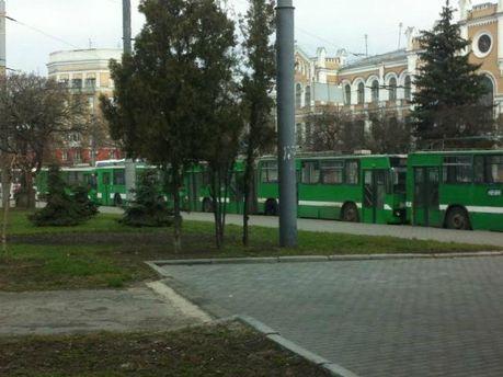 Харків перед мітингом опозиції