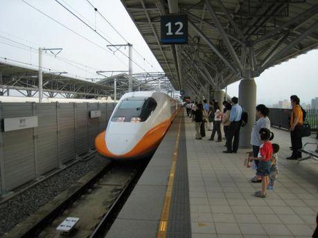 Поезд в Тайване