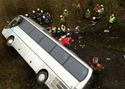 Аварія автобуса в Бельгії