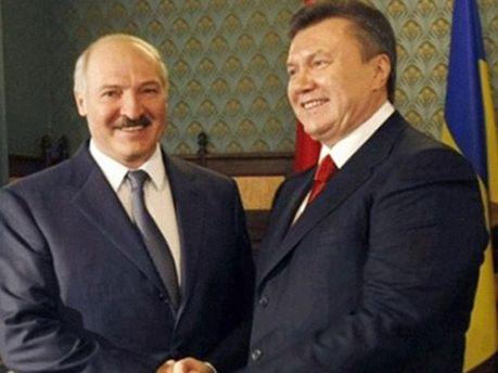 Янукович и Лукашенко