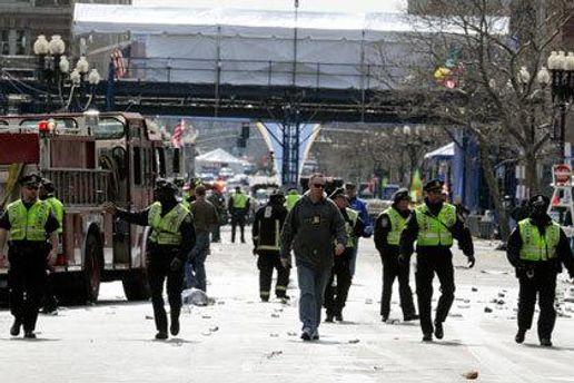 Місце вибухів у Бостоні
