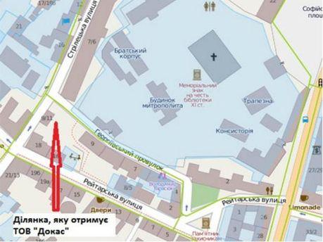 Суд дозволив будувати висотку біля Софії Київської (Фото)