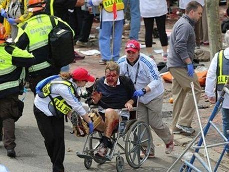 Вибух на марафоні у Бостоні
