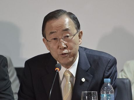 Секретар ООН Пан Гі Мун