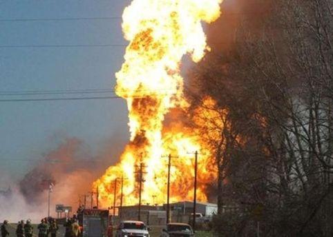 Взрыв в Техасе
