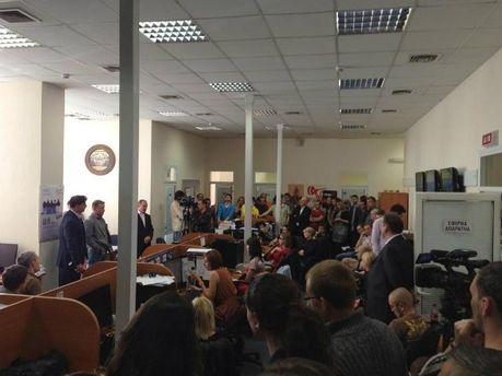 Собрание коллектива ТВi с новыми владельцами. Фото Павла Шеремета