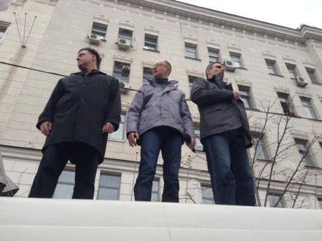 Акцию возглавят лидеры оппозиции
