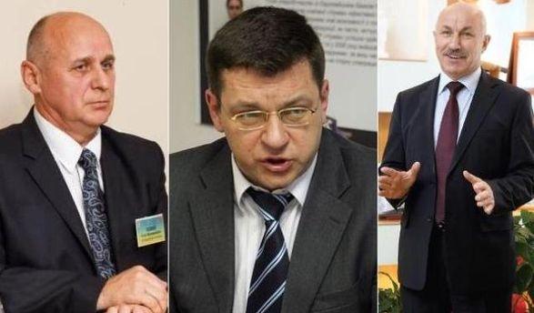 Клюй, Одарич, Дзед (слева направо)