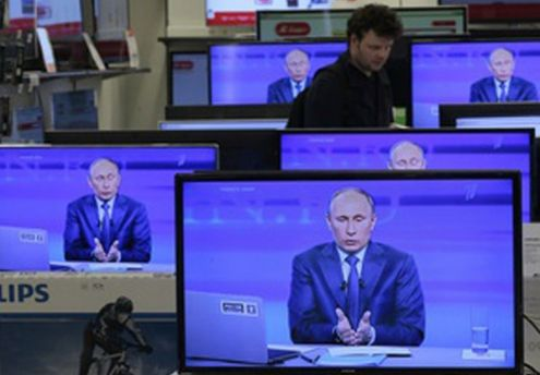 Прямий ефір з Володимиром Путіним