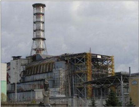 Реактор, що вибухнув, сьогодні