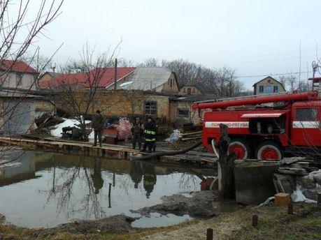 Підтоплення на Київщині