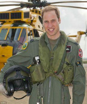 Принц Вільям на службі в армії