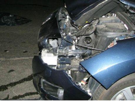 У Києві авто збило чоловіка, який перебігав шестисмугову дорогу (Фото)