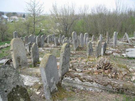 В Винницкой области подростки разгромили еврейские могилы (Фото)