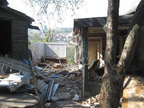 Дом после нападения рейдеров