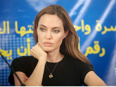 Анджеліна Джолі поспілкувалася із сирійськими біженцями