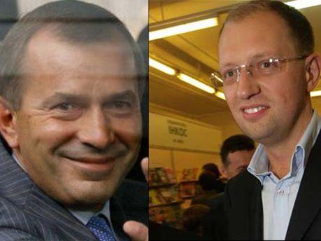 Клюев и Яценюк